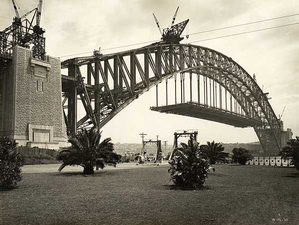 Dawes Point Reserve in 1930