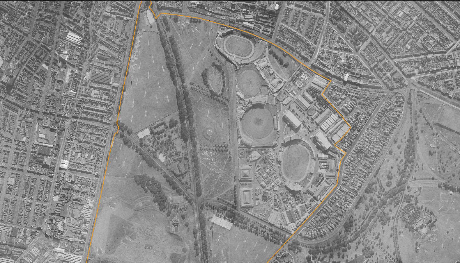 Moore Park in 1943