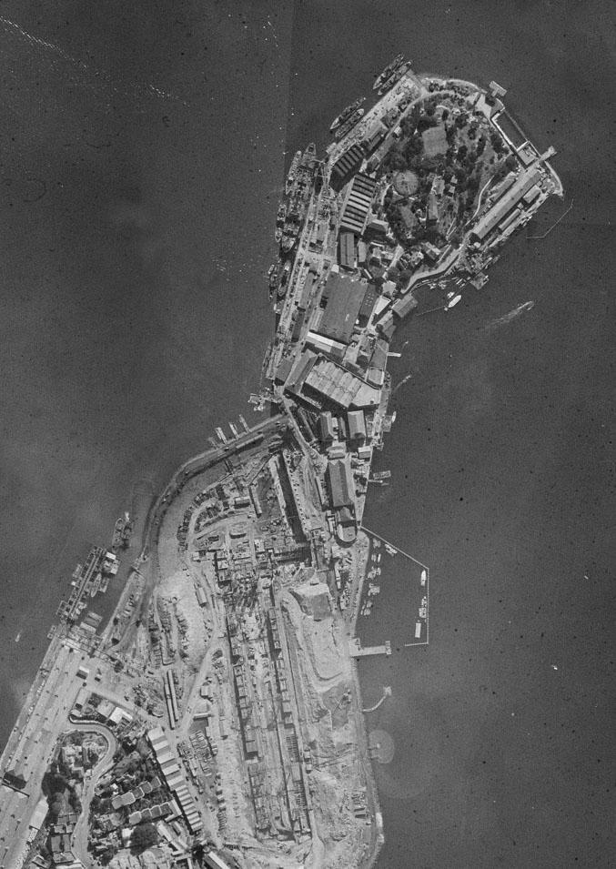 Garden Island in 1943