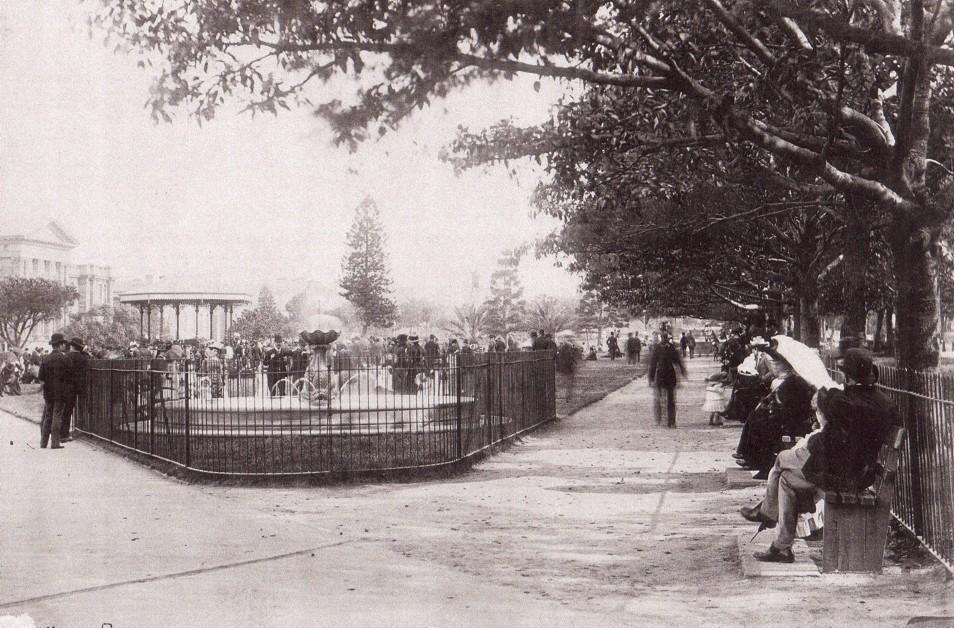 Hyde Park circa. 1880