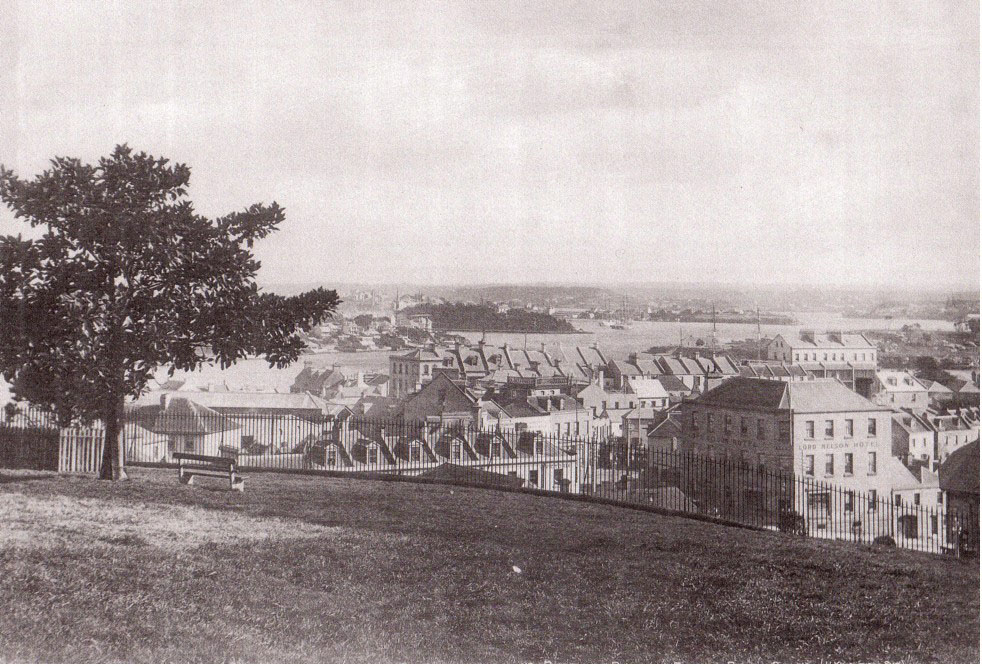 The Observatory Hill Park circa 1880