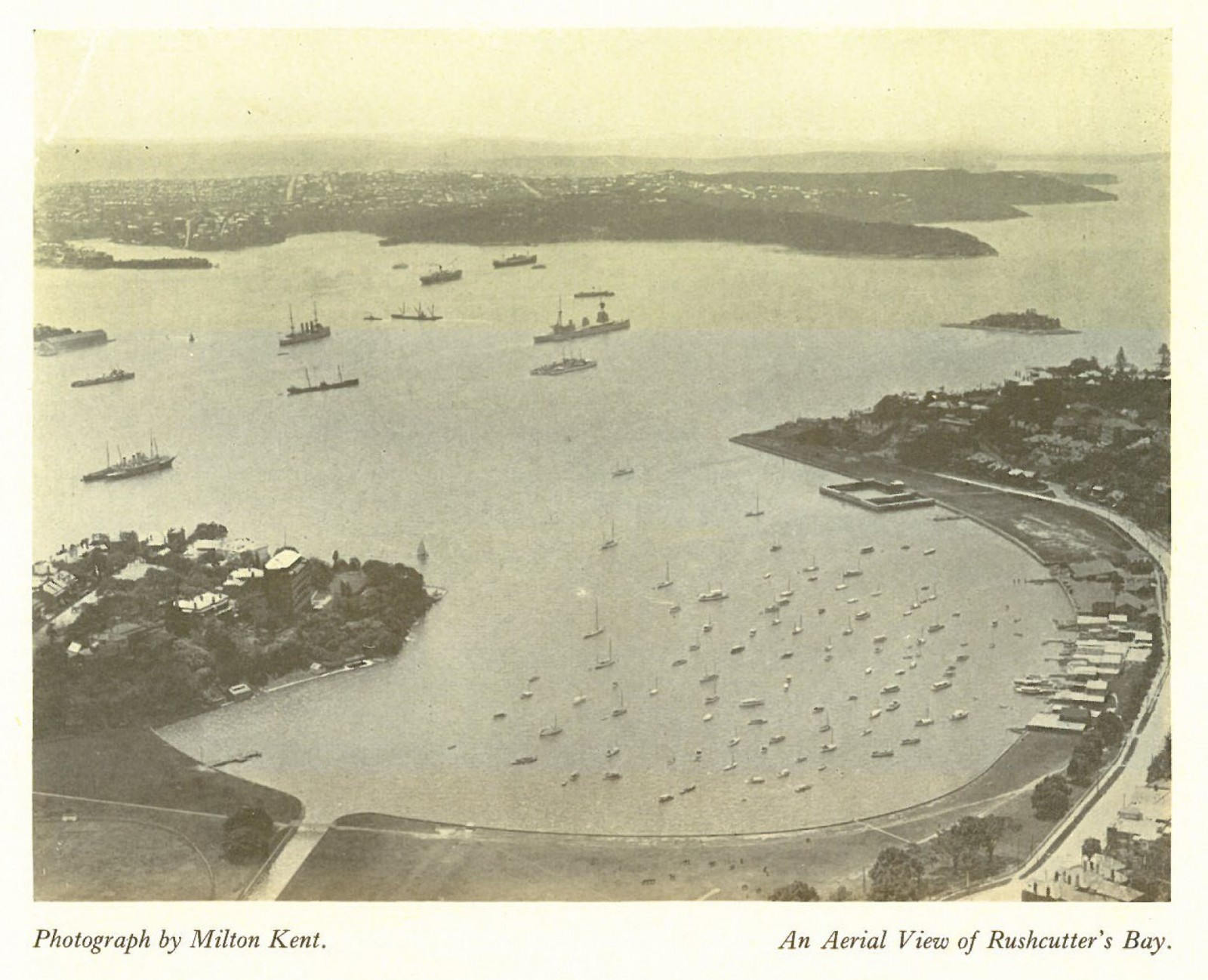 Rushcutters Bay c1920's