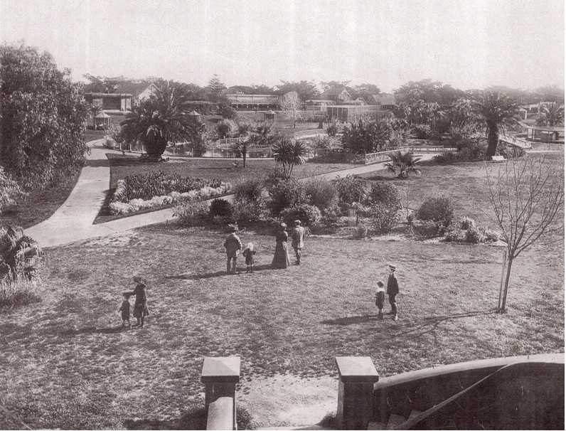 Moore Park Zoological Gardens in 1912